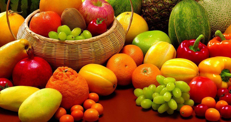 Vitamin deposu sebze ve meyveler