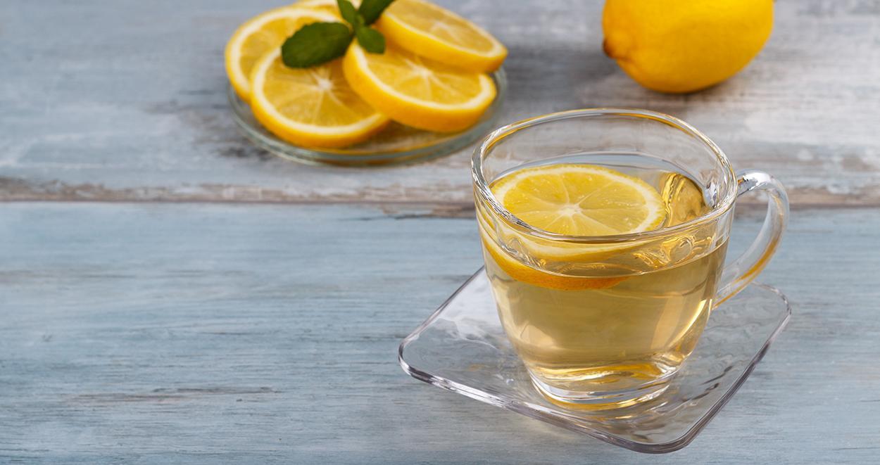 Limonlu bitki cayini demlemenin puf noktalari