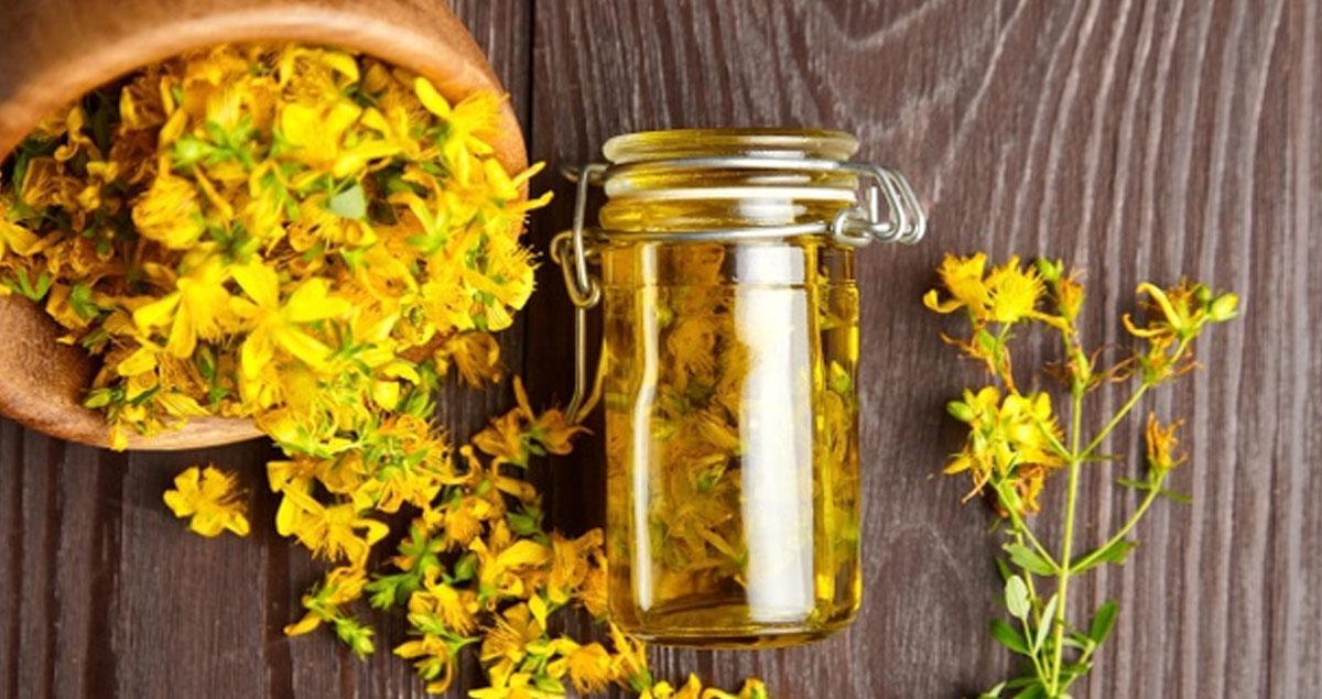 Sarı Kantaron Yağının 7 Faydası!