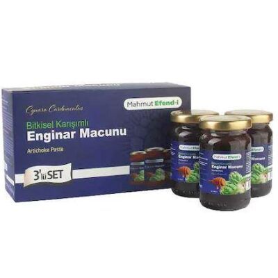 mahmut efendi enginar macunu lu set gr