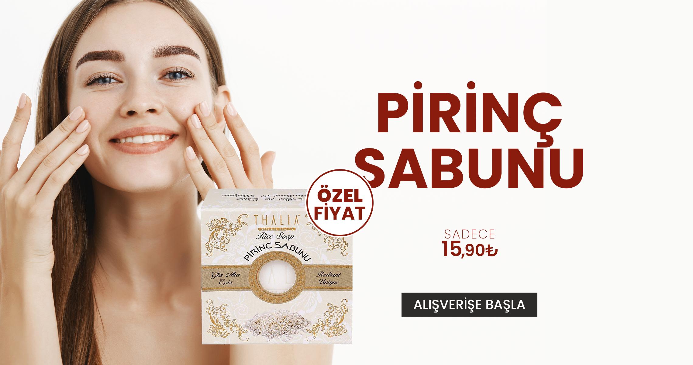 pirinc sabunu